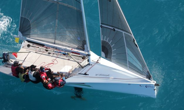 The diamonds and the dusty at Airlie Beach Race Week