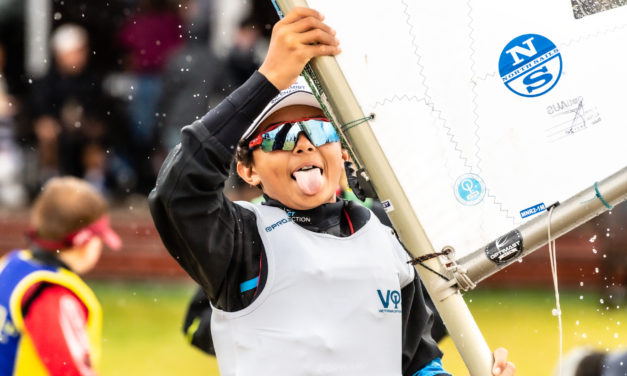 Challenging conditions as sailors are put to the test at the Musto Optimist Nationals