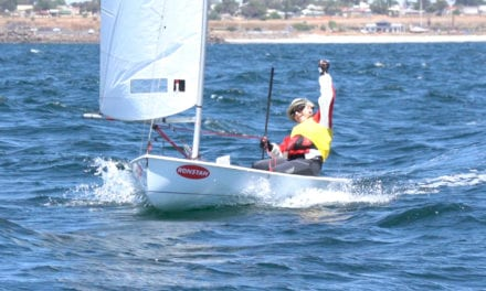 McCrae Yacht Club's Alan Riley goes back-to-back with Sabre national title