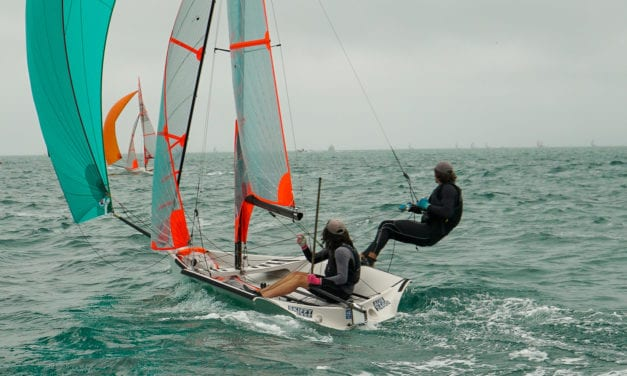 Galbraith and Zeeman take out Aussie 29er title, while Kiwis clinch regatta win