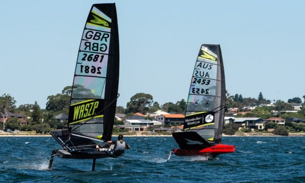 Rivalries renewed and strong international flavour for 2020 Australian WASZP Nationals