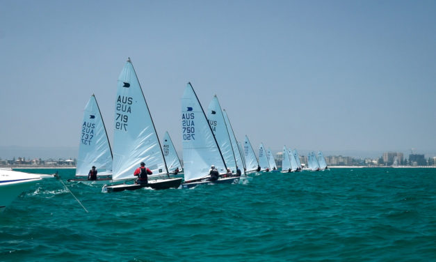 Finn, OK Dinghy and Mosquito champions crowned at Adelaide National Regatta