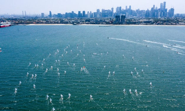 Classic conditions return to Melbourne for penultimate day of Musto Optimist Nationals
