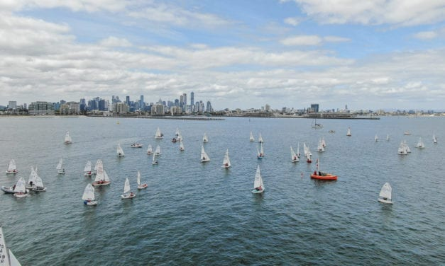 Cadet Worlds head down under, hosted by Royal Yacht Club of Victoria