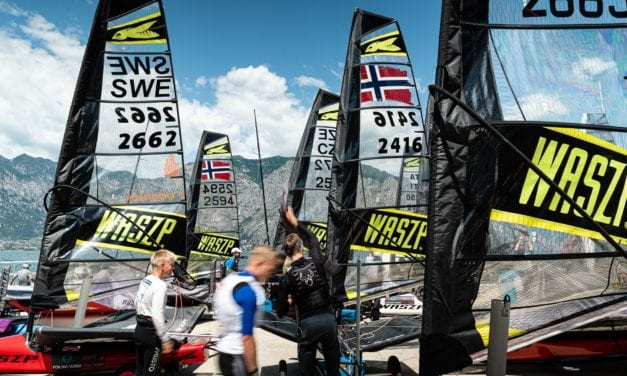 Early entry opens for 2020 International WASZP Games on Lake Garda