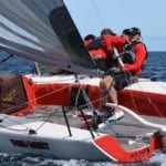 Deussen draws first blood, wins SA states ahead of Melges 24 Nationals