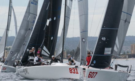 Sailors set for exciting finish in 2020 Australian Melges 24 Nationals