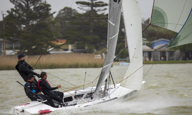 PHOTO EPIC: SA Sharpies kick off the season with a big breeze in Milang