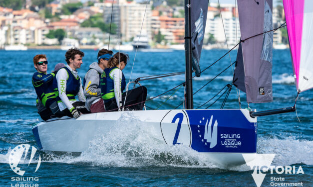 Mornington set to host first leg of Sailing Champions League Asia Pacific