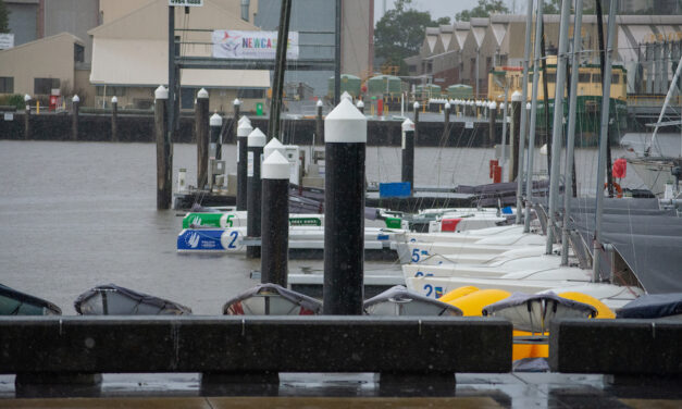 SAILING Champions League paused due to gale warning